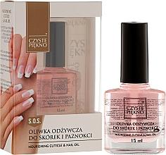 Perfumería y cosmética Aceite de uñas y cutículas - Czyste Piekno Nourising Cuticle & Nail Oil
