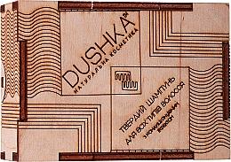Perfumería y cosmética Champú-acondicionador sólido fortificante con aceite de oliva y vitamina E 2 en 1 - Dushka