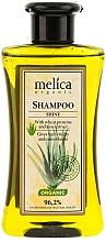 Perfumería y cosmética Champú orgánico con proteínas de trigo y extracto de aloe vera - Melica Organic Shine Shampoo