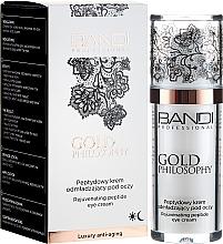 Perfumería y cosmética Crema contorno de ojos de péptidos rejuvenecedora - Bandi Professional Gold Philosophy Rejuvenating Peptide Eye Cream