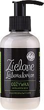 Perfumería y cosmética Acondicionador de cabello con aceite de almendras y lino - Zielone Laboratorium