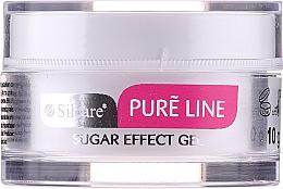 Perfumería y cosmética Gel blanco para decoración de uñas efecto 3D - Silcare Pure Line Sugar Effect