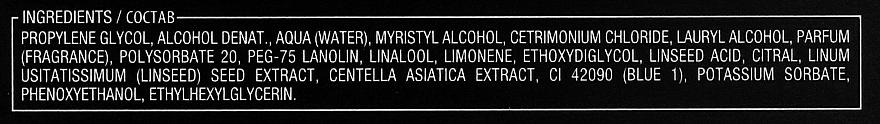 Aceite esencial para cabello de semilla de lino - Alfaparf Illuminating Essential Oil — imagen N4