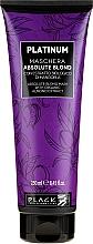 Perfumería y cosmética Mascarilla capilar con extracto orgánico de almendra - Black Professional Line Platinum Absolute Blond Mask