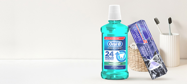 Por la compra de productos Blend-a-med, Blend-A-Dent y Oral-B superior a 6 €, llévate una pasta dental de regalo