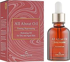 Perfumería y cosmética Aceite facial rejuvenecedor con pipeta de macadamia y rosa mosqueta - The Skin House All About Oil