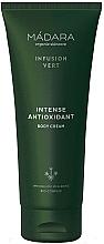 Perfumería y cosmética Crema corporal antioxidante con cola de caballo - Madara Cosmetics Infusion Vert Intense Antioxidant Body Cream