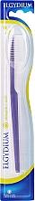 Perfumería y cosmética Cepillo dental de dureza suave, violeta - Elgydium Classic Soft Toothbrush