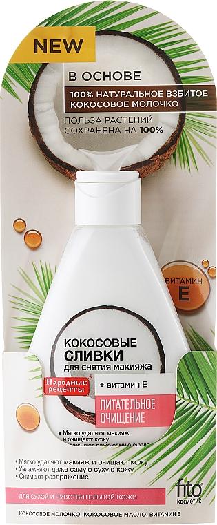 Loción desmaquillante con aceite de coco - Fito Cosmetic, recetas populares