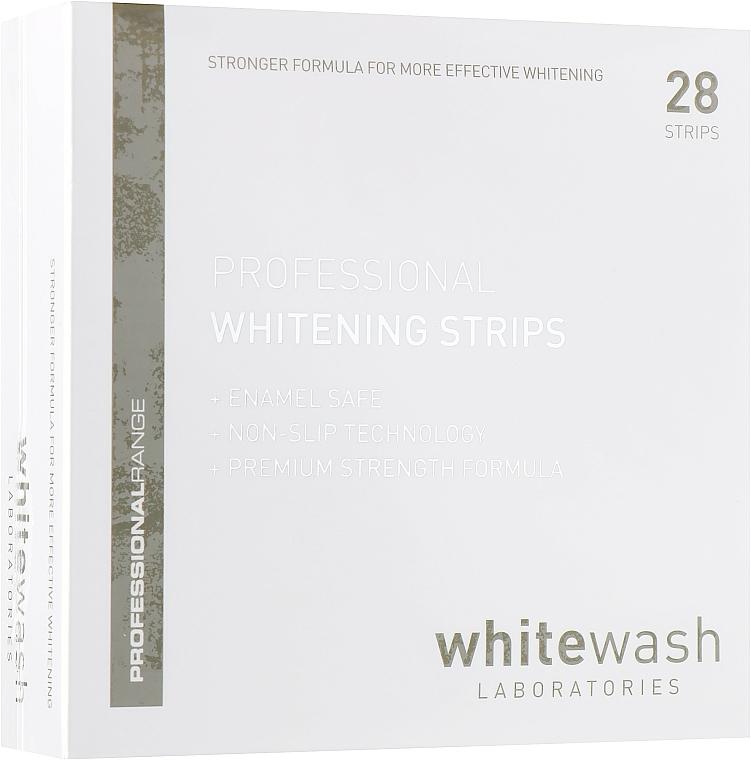 Tiras dentales blanqueadoras profesionales - WhiteWash Laboratories Professional Whitening Strips