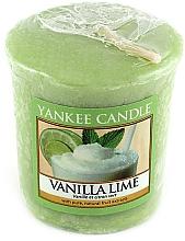 Perfumería y cosmética Vela aromática votiva, vainilla y lima - Yankee Candle Vanilla Lime