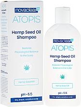 Perfumería y cosmética Champú con aceite orgánico de semilla de cáñamo - Novaclear Atopis Hemp Seed Oil Shampoo