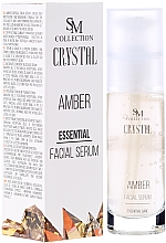 Perfumería y cosmética Sérum facial natural con extracto de ámbar - SM Collection Crystal Amber Facial Serum