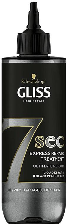Tratamiento reparador para cabello con queratina - Schwarzkopf Gliss Kur 7 Sec Express Repair Treatment Ultimate Repair