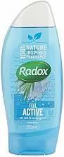 Perfumería y cosmética Gel de ducha con sal marina y limoncillo - Radox Feel Active Shower Gel