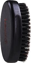 Perfumería y cosmética Cepillo de madera para barba con cerdas de jabalí, dureza media - Beviro Pear Wood Beard Brush