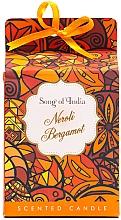 Perfumería y cosmética Vela aromática, neroli y bergamota - Song of India Scented Candlee