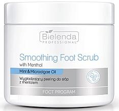 Perfumería y cosmética Exfoliante para pies suavizante con menta y microalgas - Bielenda Professional Foot Program