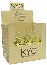 Perfumería y cosmética Ampollas reparadoras de cabello con proteína de queratina - Kyo Restruct System Fiale Keratiniche Ristrutturanti
