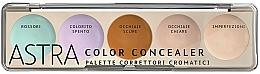 Perfumería y cosmética Paleta correctores faciales - Astra Make-Up Color Concealer Camouflage