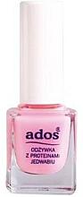 Perfumería y cosmética Acondicionador para uñas con proteína de seda - Ados №09