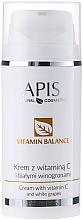 Perfumería y cosmética Crema facial con vitamina C y uva blanca - APIS Professional Vitamin Balance Cream With Vitamin C and White Grapes