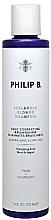 Perfumería y cosmética Champú para cabello rubio con extracto de ciruela - Philip B Icelandic Blonde Shampoo
