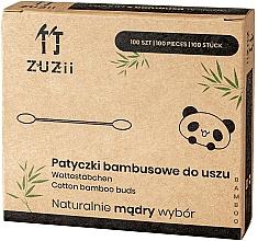 Perfumería y cosmética Bastoncillos de bambú - Zuzii Bamboo Cotton Buds