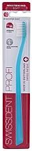 Perfumería y cosmética Cepillo dental suave, azul - Swissdent Profi Whitening Soft Ice Blue
