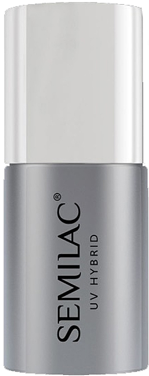 Top coat gel, sin capa pegajosa, UV - Semilac Top No Wipe Sparkle Diamond
