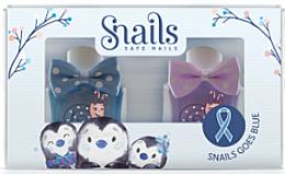 Perfumería y cosmética Set esmalte de uñas infantil, lavable y no tóxico - Snails Mini Bebe Penguin (2uds.x10,5ml)