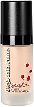 Perfumería y cosmética Base de maquillaje en crema de cobertura media para pieles normales, secas y deshidratadas - Diego Dalla Palma Geisha Lifting Effect Cream Foundation
