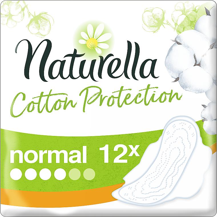 Compresas con alas, 12 uds. - Naturella Cotton Protection Ultra Normal