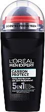 Perfumería y cosmética Desodorante roll-on antitranspirante 4 en 1 - L'Oreal Paris Men Expert Carbon Protect AntiPerspirant Intense Ice Deo Roll-On
