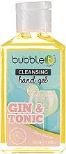 """Perfumería y cosmética Gel de manos antibacteriano """"Gin Tonic"""" - Bubble T Cleansing Hand Gel Gin & Tonic"""
