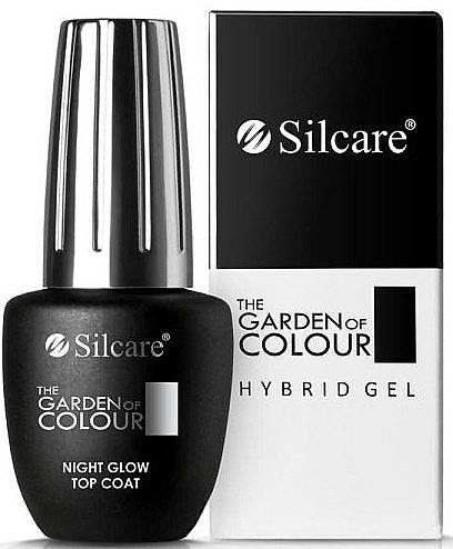 Top coat híbrido - Silcare The Garden of Colour Night Glow Top Coat