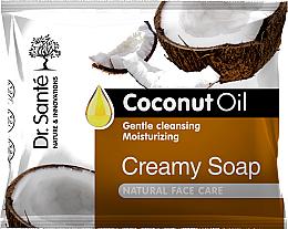 Perfumería y cosmética Crema-jabón facial con aceite de coco - Dr.Sante Cream Soap