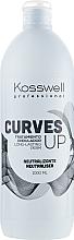 Perfumería y cosmética Tratamiento neutralizante ondulador de larga duración para cabello - Kosswell Professional Curves Up Neutraliser