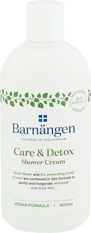 Gel de ducha-crema con agua de abedul - Barnangen Care & Detox Shower Cream