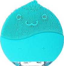 Perfumería y cosmética Cepillo de limpieza facial, BR-030, azul - Lewer Facial Cleansing Brush Blue