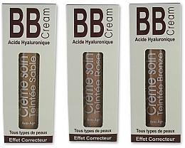 Crema facial correctora con aceite de avellana & ácido hialurónico 3 en 1 - Naturado En Provence Bio BB Cream — imagen N3