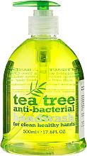 Perfumería y cosmética Jabón líquido antibacteriano de manos con aceite de árbol de té - Xpel Marketing Ltd Tea Tree Anti-Bacterial Handwash