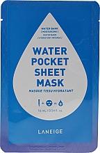 Perfumería y cosmética Mascarilla hidratante de algodón - Laneige Water Pocket Sheet Mask Water Bank