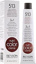 Perfumería y cosmética Crema colorante nutritiva 3en1 con provitamina B5 y aceite de semilla de uva - Revlon Professional Nutri Color Creme 3in1