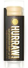 Perfumería y cosmética Bálsamo protector labial eco con aceite de tangerina y camomila, SPF15 - Hurraw! Sun Protection Lip Balm SPF15 Limited Edition