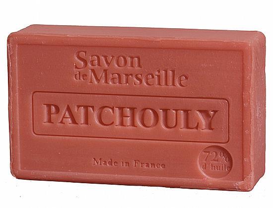 Jabón artesanal con aroma a pachulí - Le Chatelard 1802 Patchouli Soap — imagen N1
