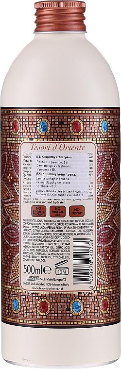 Tesori d`Oriente Byzantium Bath Cream - Crema de baño con extracto de rosa y ládano — imagen N2