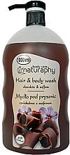Perfumería y cosmética Champú & Gel de ducha con chocolate & azafrán - Bluxcosmetics Naturaphy Hair & Body Wash
