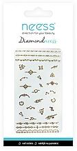 Perfumería y cosmética Pegatinas para las uñas, 3712 - Neess Diamondneess