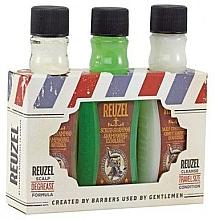 Perfumería y cosmética Set (champú/100ml + champú/100ml + acondicionador/100ml) - Reuzel Degrease Trio Kit